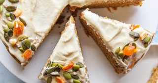 healthy vegan carrot cake