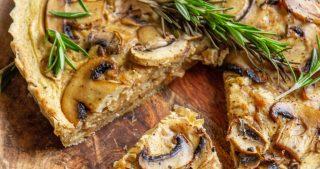silken tofu vegan quiche