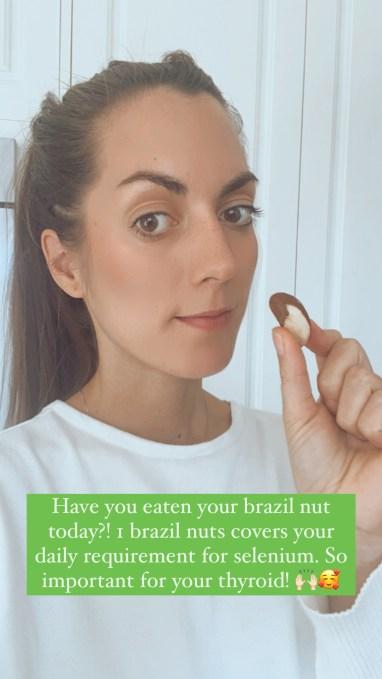 brazil nut for vegan source of selenium