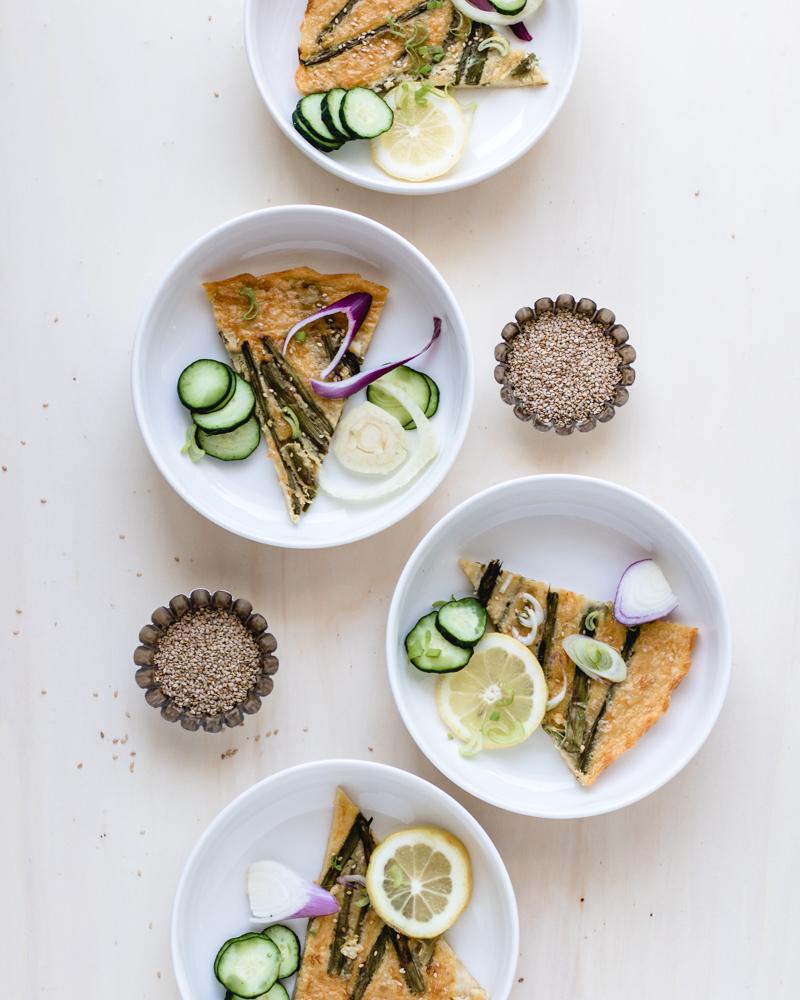 Gluten-free chickpea flatbread Farinata | Healthy Goodies by Lucia