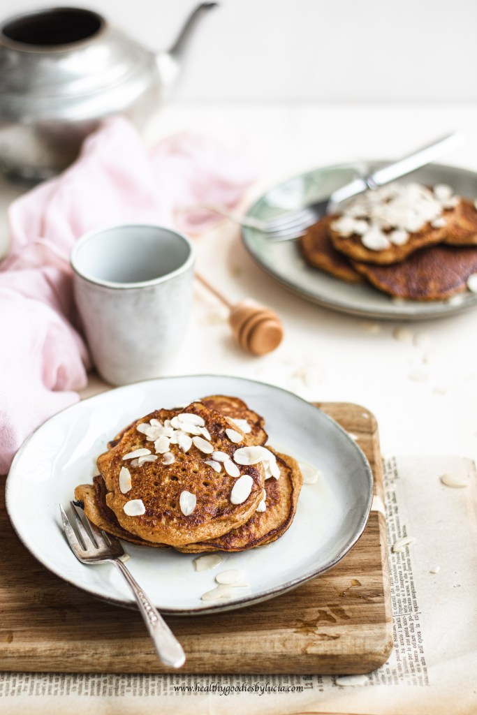 Pumpkin chickpea Pancakes | Healthy Goodies by Lucia-7436