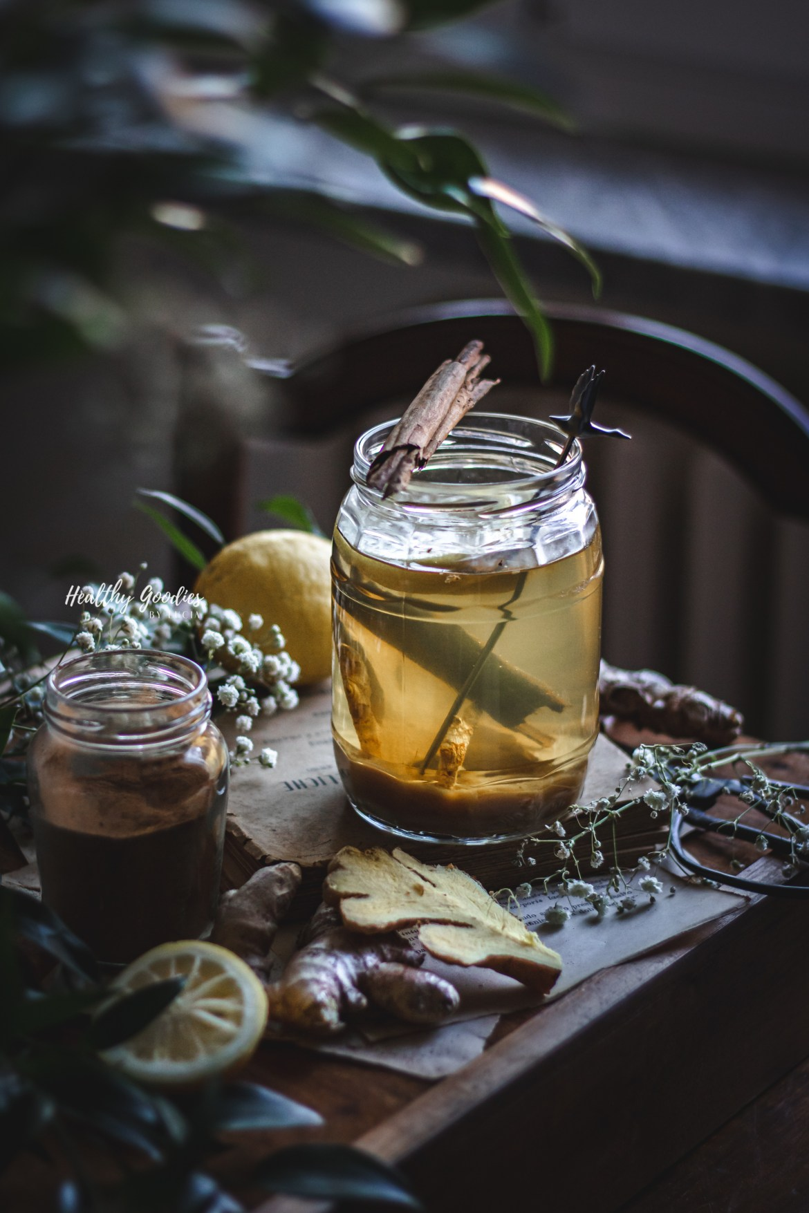 Naturally Sweetened Ginger syrup | Healthy Goodies by Lucia Marecak
