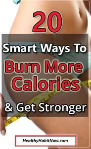 burn more calories lose weight