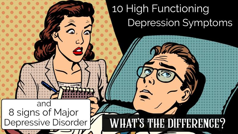 high functioning depression symptoms