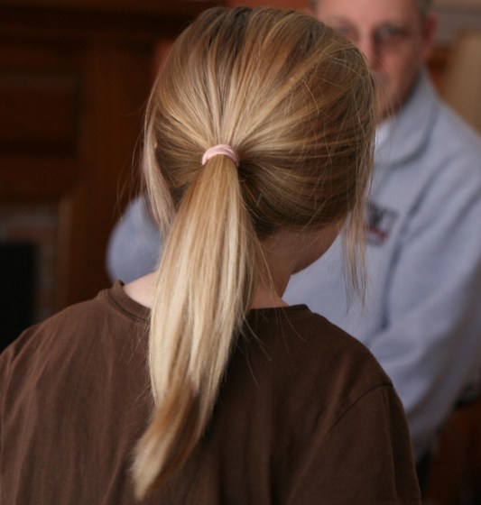 Preventing Breakage from Ponytails and Buns
