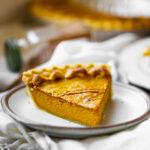two ingredient pumpkin pie