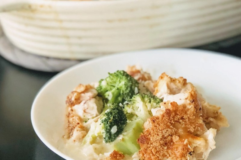 Paleo Whole30 Chicken Broccoli Casserole