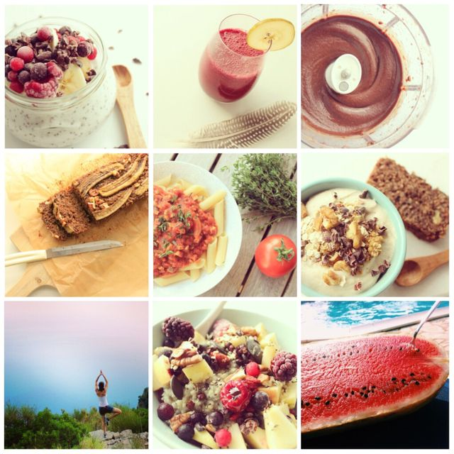 HealthyHappySteffi on Instagram in September 2014