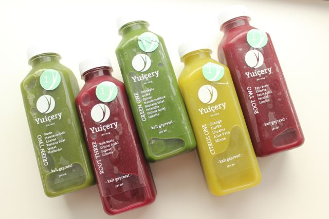 Juice Cleanse with Yuicery - first day - www.healthyhappysteffi.com