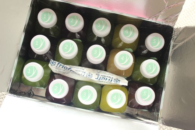 Juice Cleanse with Yuicery - the package - www.healthyhappysteffi.com