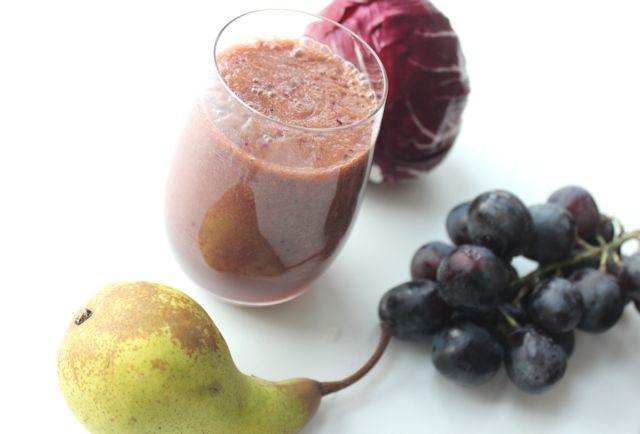 radicchio smoothie - www.healthyhappysteffi.com