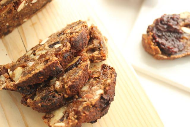 gluten free fruitbread - www.healthyhappysteffi.com