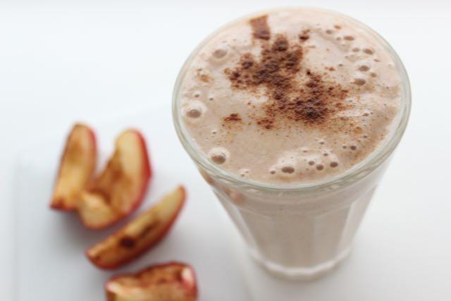 Bratapfel-Mandel-Milch - www.healthyhappysteffi.com