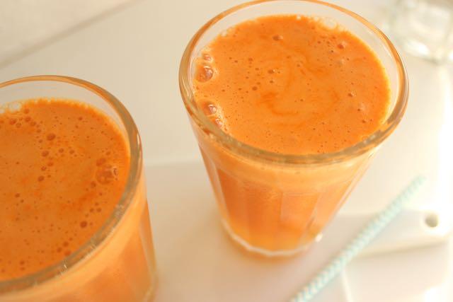 Saft mit Kurkuma - juice with turmeric - www.healthyhappysteffi.com