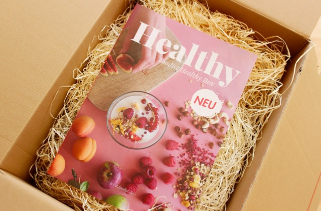 Foodist Healthy Box mit Magazin - www.healthyhappysteffi.com