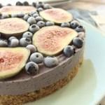Heidelbeere-Feigen-Torte (Rohkost)