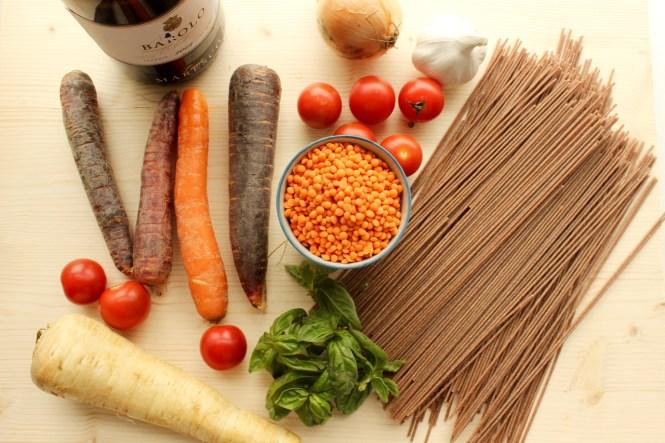 Vegane Bolognese aus Linsen