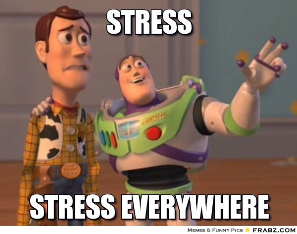 student springtime stress balancing academic personal and pre