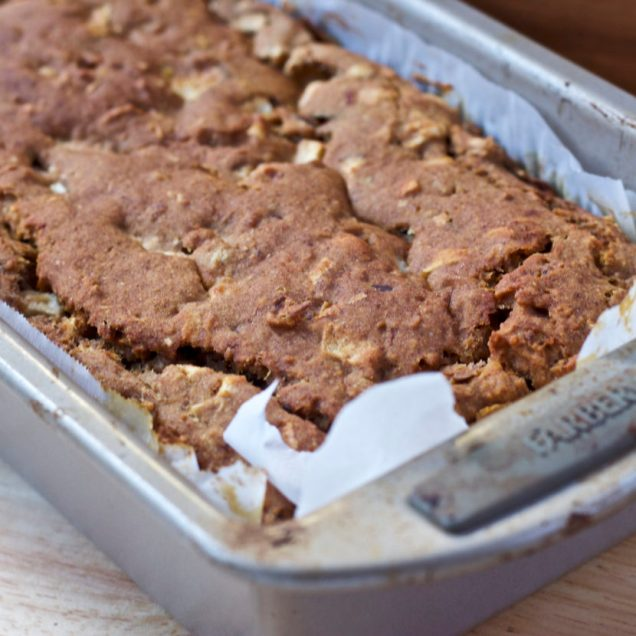 Nutty Apple Crunch Loaf | Healthy Helper @Healthy_Helper