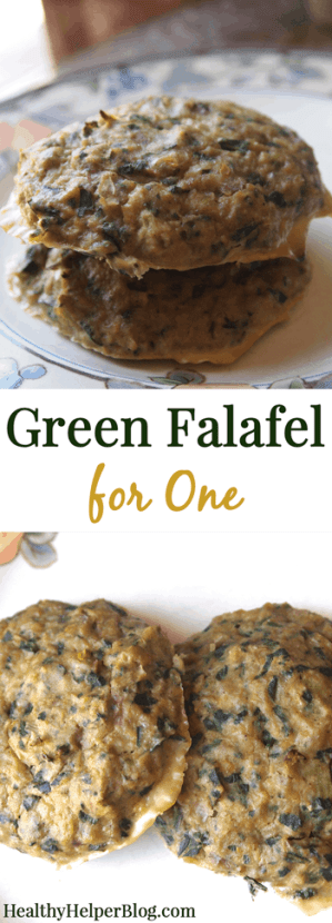 Green Falafel for One