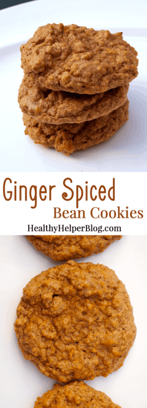 Ginger Spiced Bean Cookies