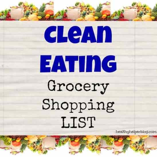 cleaneatinggroceryshoppinglist
