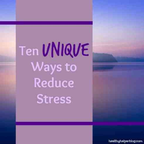 tenwaystoreducestress