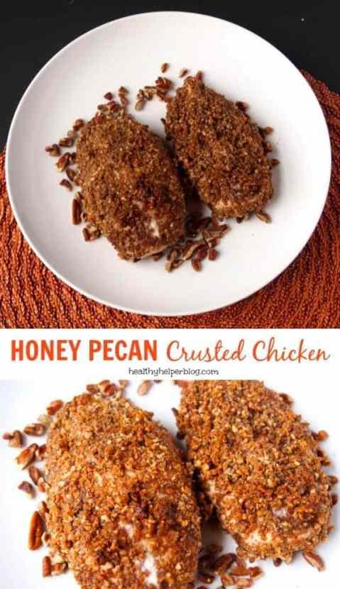 honeypecancrustedchicken