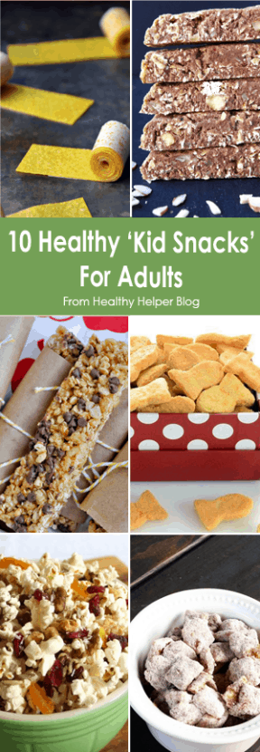 10 Healthy Kid Snacks For Adults