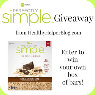 Perfectly Simple Bar Giveaway