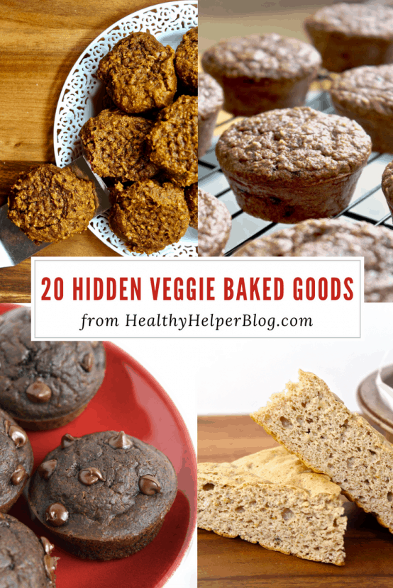 20 Hidden Veggie Baked Goods Recipes | Healthy Helper A round-up the best treats and snacks made with hidden vegetables for extra nutrition! Healthy, homemade baked goods can taste amazing AND have superfood ingredients. The perfect way to encourage kids or the veggie-haters in your life to get their five-a-day!