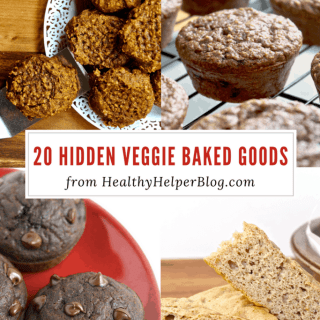 20 Hidden Veggie Baked Goods Recipes   Healthy Helper A round-up the best treats and snacks made with hidden vegetables for extra nutrition! Healthy, homemade baked goods can taste amazing AND have superfood ingredients. The perfect way to encourage kids or the veggie-haters in your life to get their five-a-day!