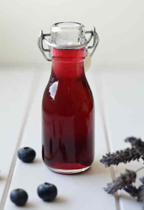 Blueberry-Lavender-Syrup