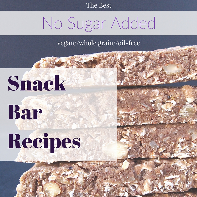 The Best No Sugar Added Snack Bar Recipes