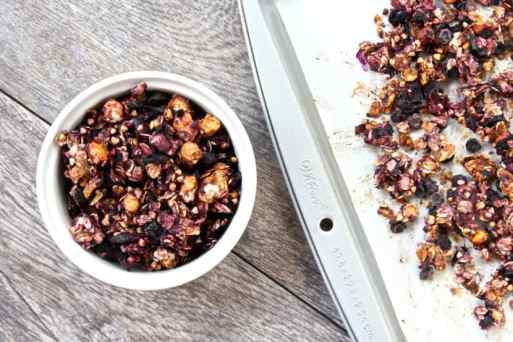 Blueberry Ginger Granola