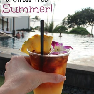 5 Ways to Have a Stress Free Summer from Healthy Helper...A collection of easy, effective tips for enjoying the season and stressing less in your everyday life!
