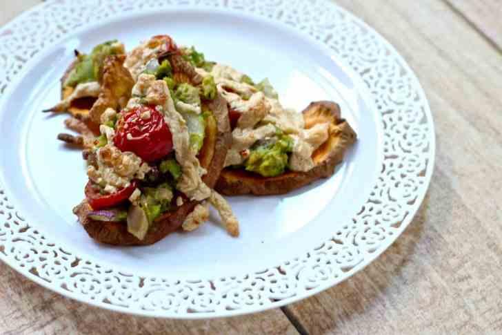 Paleo Tuna Melts on Sweet Potato Toast