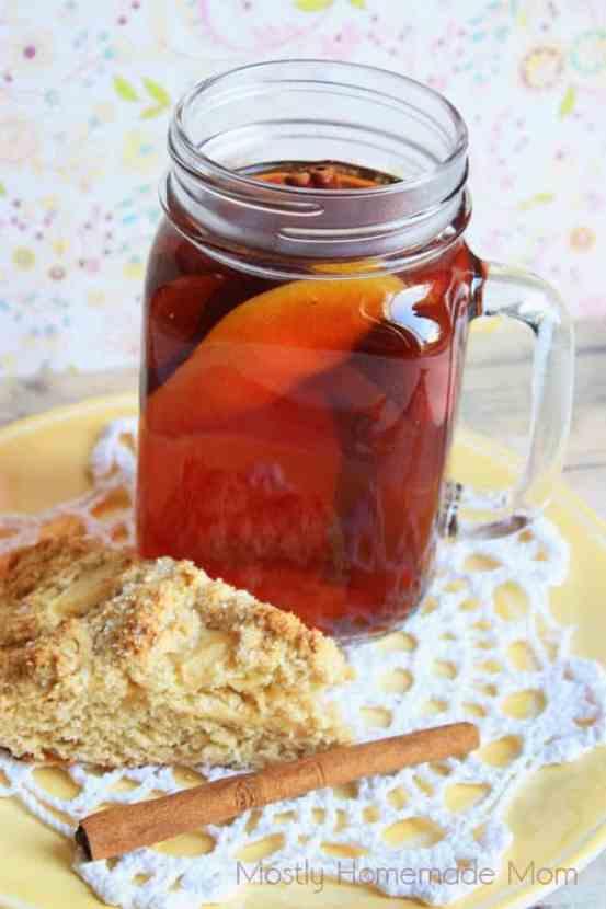 Autumn Spiced Apple Tea