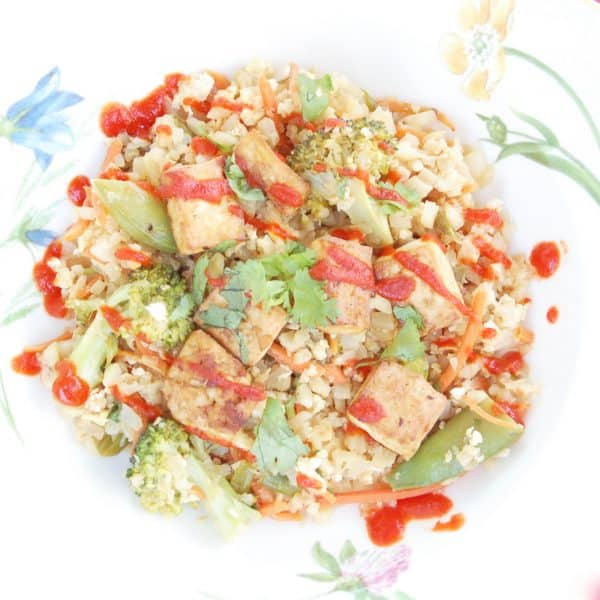 Veggie Cauliflower Fried Rice | Healthy Helper @Healthy_Helper