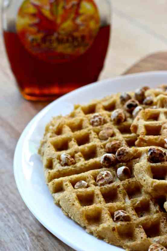The BEST EVER Gluten-Free Waffles | Healthy Helper @Healthy_Helper Light, fluffy, grain-free waffles that cook up perfectly your waffle maker! Crispy on the outside, soft on the inside, and so easy to make. You'll love the unique nutty flavor and the filling satisfaction of their high protein content!