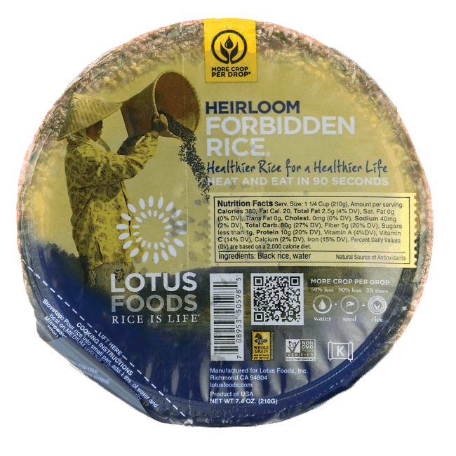Heirloom Forbidden Black Rice | Healthy Helper @Healthy_Helper