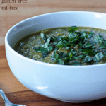 HCLF Vegan Cream of Broccoli Soup [gluten-free + oil-free]