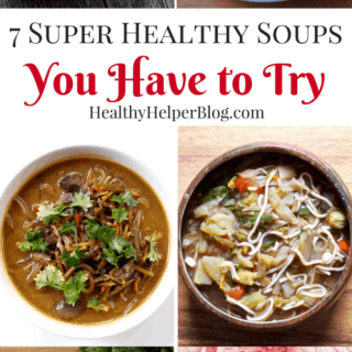 7 SUPER Healthy Soups You Have to Try | Healthy Helper @Healthy_Helper Celebrate National Homemade Soup Day with six delicious, healthy soups and stews. Full of nutrients and perfect for one pot, easy meals all week long!