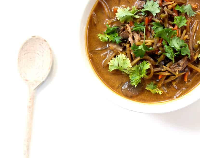 7 Ingredient Coconut Curry Seafood Soup | Healthy Helper @Healthy_Helper