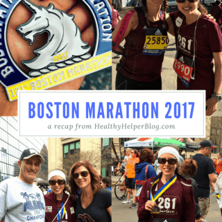 Boston Marathon 2017 | Healthy Helper @Healthy_Helper A recap of my first ever BOSTON MARATHON experience. It wasn't what I planned or expected...but it was definitely memorable. Read on for thoughts, feelings, and emotions from the 2017 running of the greatest marathon on EARTH.