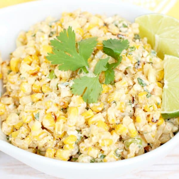 Mexican Street Corn Salad | Healthy Helper @Healthy_Helper