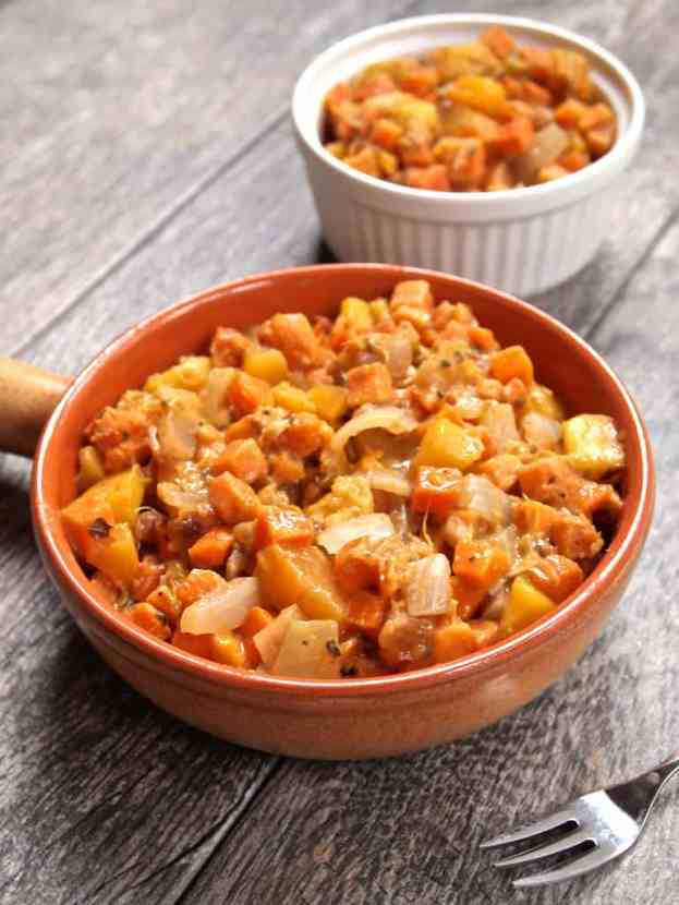 Fresh n' Fruit Sweet Potato Hash | Healthy Helper @Healthy_Helper