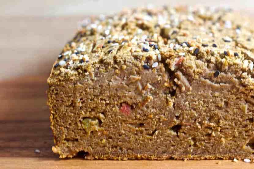 Savory Banana Flour Breakfast Bread | Healthy Helper @Healthy_Helper