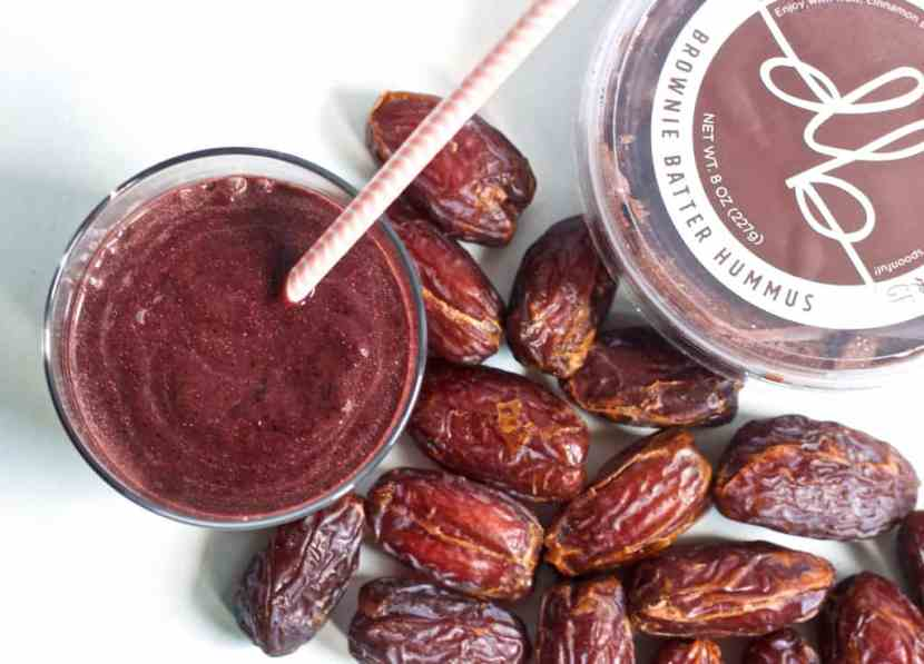 5 Ingredient Brownie Batter Smoothie | Healthy Helper @Healthy_Helper
