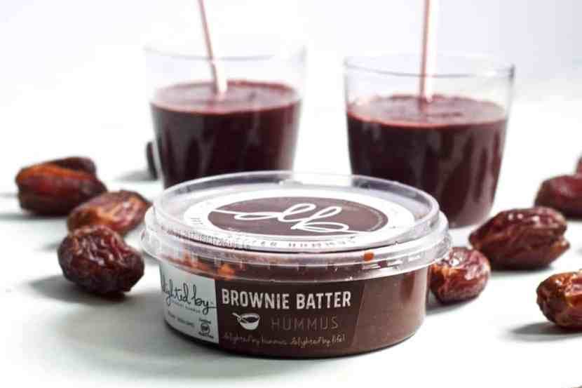 5 Ingredient Brownie Batter Smoothie   Healthy Helper @Healthy_Helper